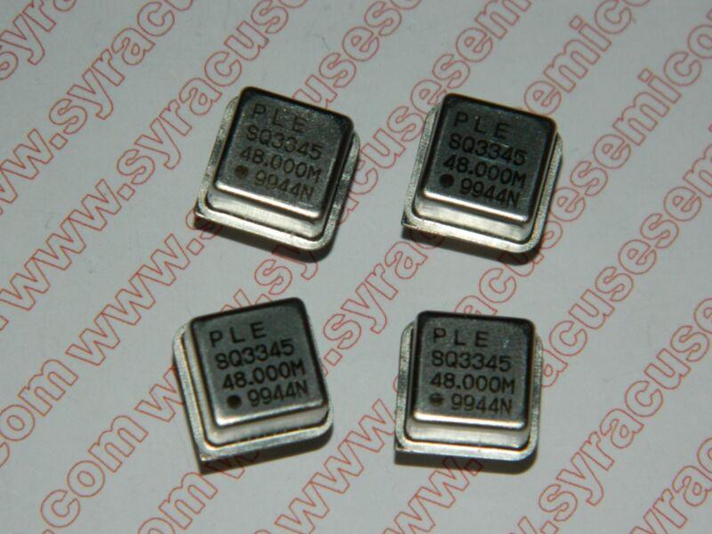 48.000 Mhz Crystal Oscillators - Lot of 5 pieces