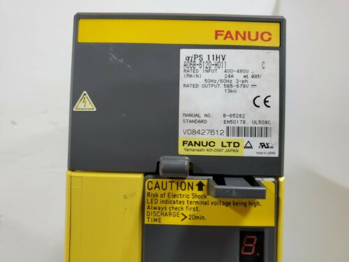 Fanuc Power Supply Module A06b-6120-h011 Fully Refurbished!!! Exchange Only