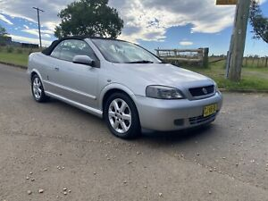 2003 Holden Astra Convertible 4 Sp Automatic 2d Convertible