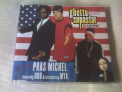 PRAS MICHEL / ODB / MYA - GHETTO SUPASTAR - CLASSIC R&B CD SINGLE