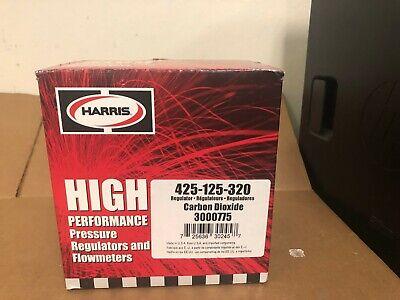 Harris 425-125-320 High Performance Pressure Regulator Flow Meter Cylinder
