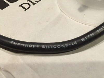 Neon Gto Silicone Wire Black 15000v 20 High Voltage Neon Wire Super Flexible