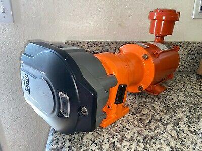 Watson Marlow 12hp Pump Explosion Proof Motor With Heavy Duty 620re Pump Head