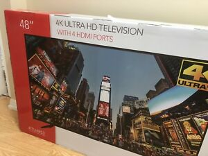 "RCA 48"" brand new in unopened box tv"