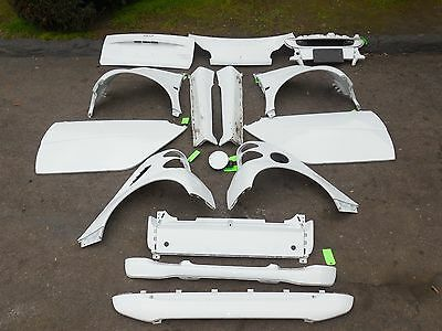 Smart Car Fortwo Passion Pure Oem Complete Set Of White