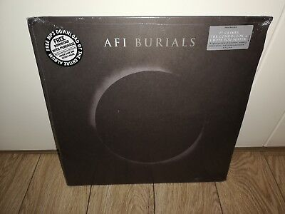 AFI - Burials (Colored White 2LP Vinyl 2013) New & Sealed Rare OOP