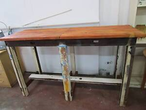 C49090 Terrific Rustic Industrial Bar Workbench Kitchen Island Mount Barker Mount Barker Area Preview