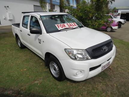 2011 Toyota Hilux TGN16R 4x2 Dual Cab Ute 2.7 Petrol Auto 68ks Nerang Gold Coast West Preview
