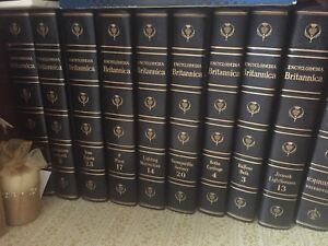 Full set of Encyclopedia Brittanica - 1965