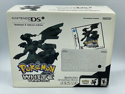Nintendo DSi Pokemon WHITE Reshiram & Zekrom Sealed System Console Bundle GRAIL