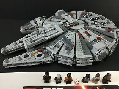 LEGO Star Wars 75105 Millennium Falcon Complete W/ NEW Manual & Minifigs (2015)