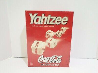 Hasbro Yahtzee Coca-Cola Collector's Edition Game