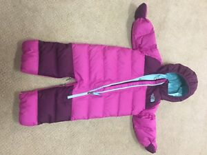 The North Face infant Snowsuit