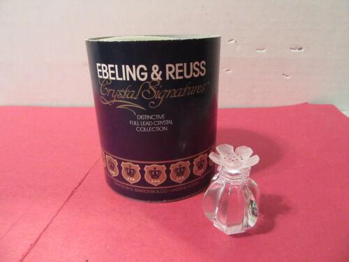 Ebeling & Reuss Apple Blossom lead crystal Swarovski Austria figure