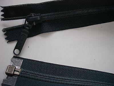 RV 286 Reißverschluß opti dunkelgrau 50cm, teilbar 1 Stück