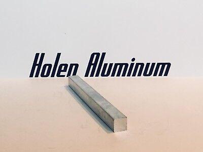 2-12 X 2-12 X 3 Long Square Aluminum Bar Stock 6061-t6 2.5