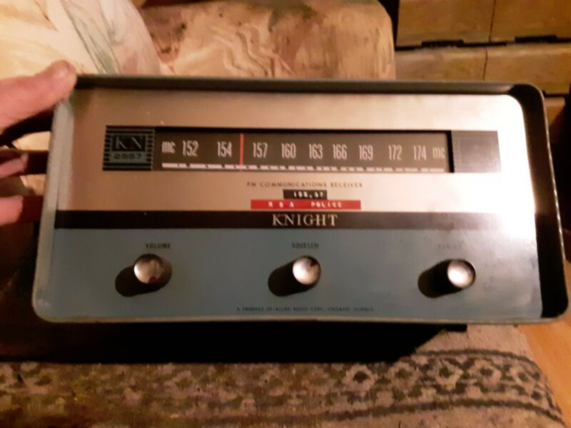 Knight Model-KN-2557 FM Communications Receiver w/Speaker