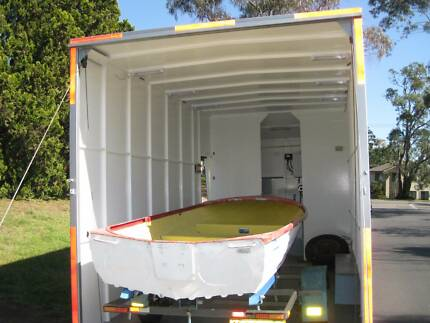 Enclosed car trailer - boat, motorbikes, canoes, storage, travel