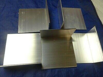 2 X 4 Aluminum Angle 18 Thick 6 In Length 20 Pieces