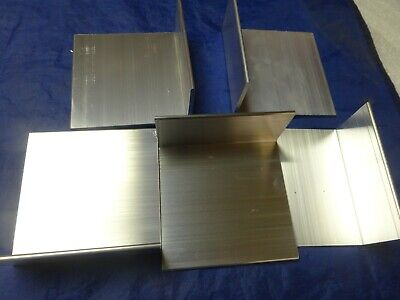2 X 4 Aluminum Angle 18 Thick 4 In Length 5 Pieces