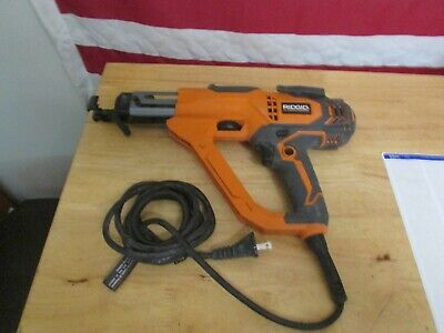 Ridgid R6791 3 In. Drywall And Deck Collated Screwdriver Fast Free Shipping. 137