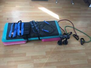 Step reebok et accessoires d' entraînement