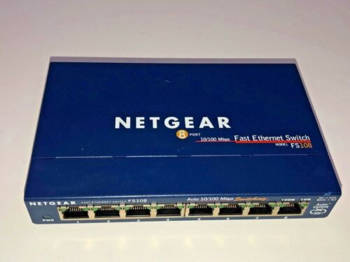 NETGEAR ProSafe Ethernet Switch FS108