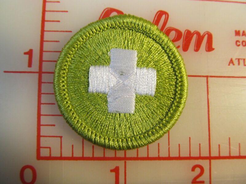 BSA 2010 backed SAFETY merit badge emblem patch (rU)