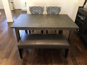 Industrial Looking Table from Crate&Barrel