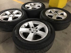 "Honda Civic 16"" Alloy Rims with Summer Tires"