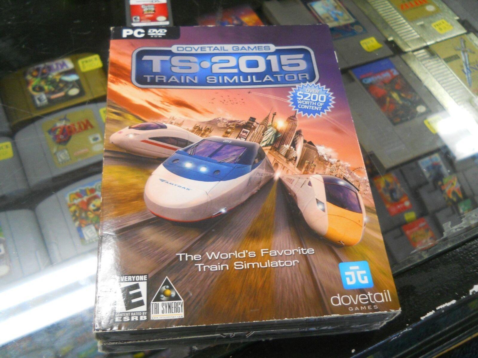 Dovetail Games Train Simulator TS - 2015 PC DVD  ***NEW SEALED***