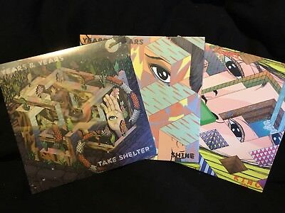 """YEARS AND YEARS X 3. 7"""" VINYL shine/Take Shelter /King"""