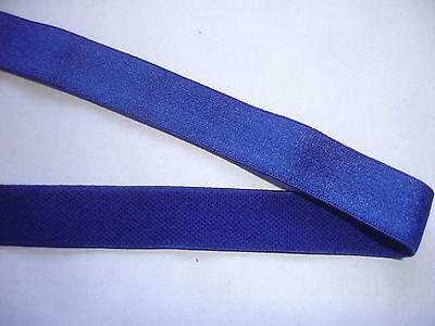 10m Gummiband 0,24€/m royalblau, Trägerband 16mm breit,  MP14