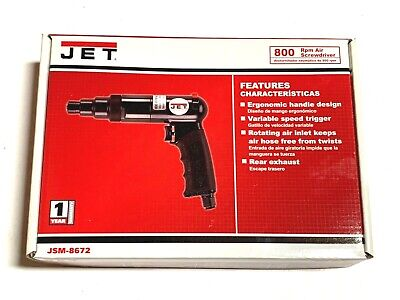 Jet Air Screwdriver 145 Ft Lb Torque 800 Rpm Jsm-8672