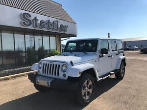 2018 Jeep Wrangler JK Unlimited Sahara! LOW KM! TOUCHSCREEN!