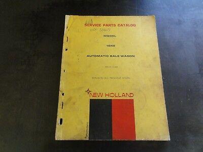 New Holland 1040 Automatic Bale Wagon Service Parts Catalog Manual  3-68