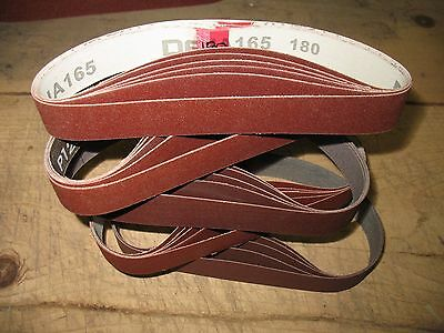 25- 1 X 18 Sanding Belts For Work Sharp Knife Sharpener Ken Onion Attachment