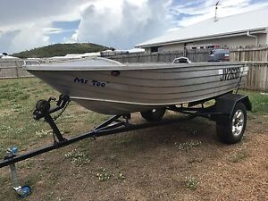 3.9 SeaJay boat and trailer Yeppoon Yeppoon Area Preview