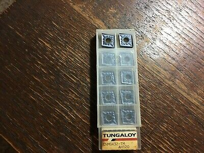 Cnmg432tm Ah120 - Tungaloy - 10 Inserts - New - Usa Stock - Cnmg120408-tm Ah120