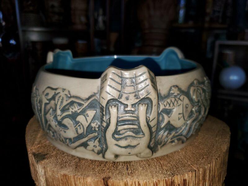 Tiki Mug  Don Q volcano scorpion Bowl Kainoa Tiki Farm 2014 sold out
