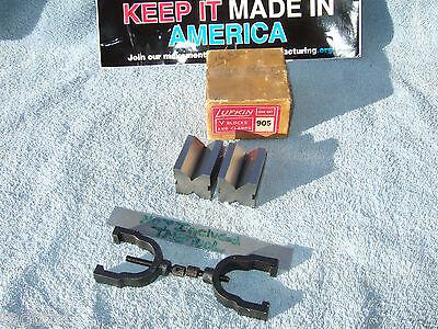 Lufkin No.905 V-block Set Matched Toolmaker Vintage 278 750 V-blocks Here Also