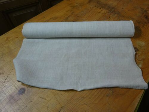 A Homespun Linen Hemp/Flax Yardage 5.5 Yards x 21