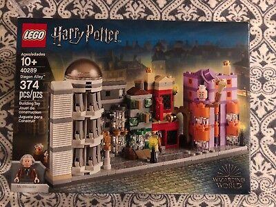 LEGO Harry Potter DIAGON ALLEY (40289) Exclusive Micro Build NEW! RARE!