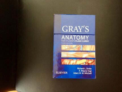 Graya Anatomy For Students Third Edition Textbooks Gumtree