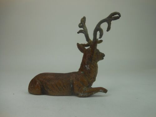 Vintage German Lead Putz Reindeer Christmas Germany Deer