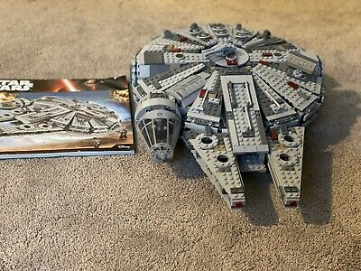 LEGO Star Wars Millennium Falcon (75105) - No Box, Missing Mini figures