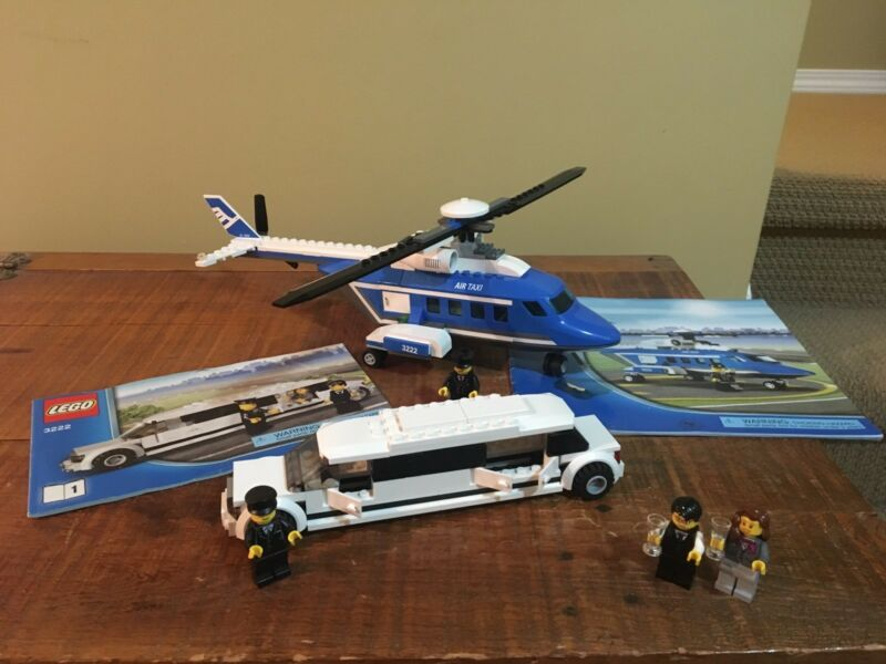 Lego City Set 3222 Helicopter Limousine Toys Games Winnipeg