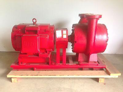 Bell and Gossett VSX-VSC split-case suction Pump 5x6x17.5A 150 HP Electric Motor