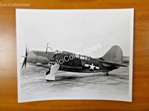 OFFICAL Navy Curtis Helldiver Aircraft SB2C Photo 8x10 USS