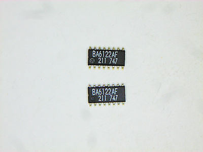 Ba6122af Original Rohm 16p Smd Ic 2 Pcs